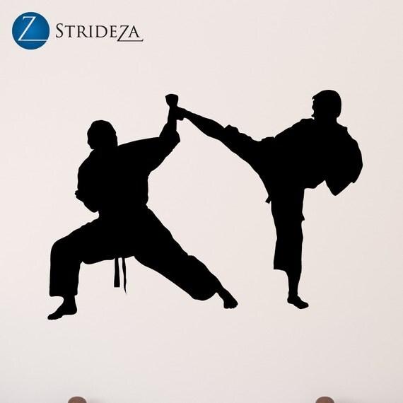 karate decal karate stickers karate wall decal karate