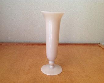 Cambridge Pink Glass Vase 1930's
