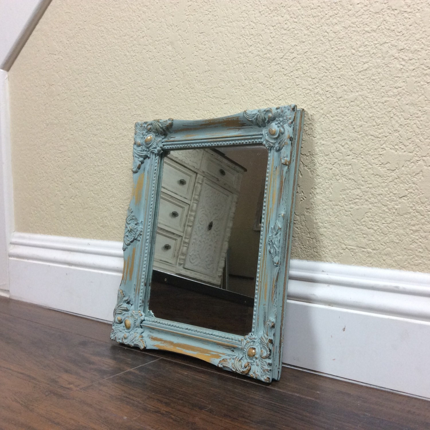 french provincial mirror mirror blue mirror provincial mirror chic decor 1106