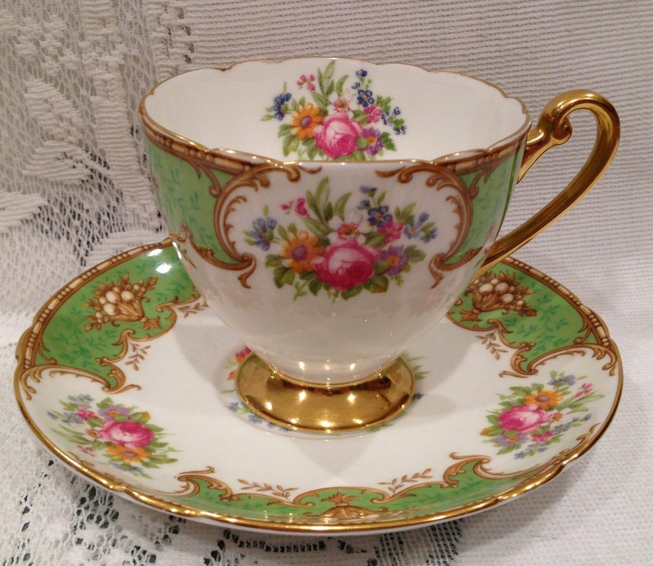 Vintage English SHELLEY Fine Bone China Tea Cup & by