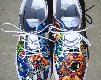 Full CUSTOM NIKE SB Janoski Shoes