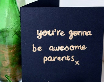 EKone - you're gonna be awesome parents - Card