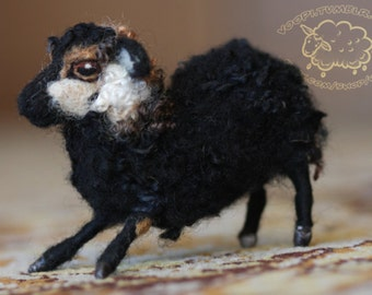 CUSTOM Needle Felted Sheep, Made to order, Medium