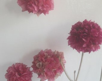 Custom dried flower topiary