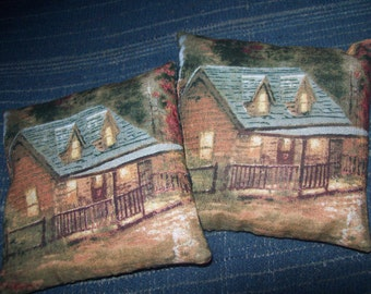 Balsam sachet, set of two, Maine balsam, balsam fir, country cottage