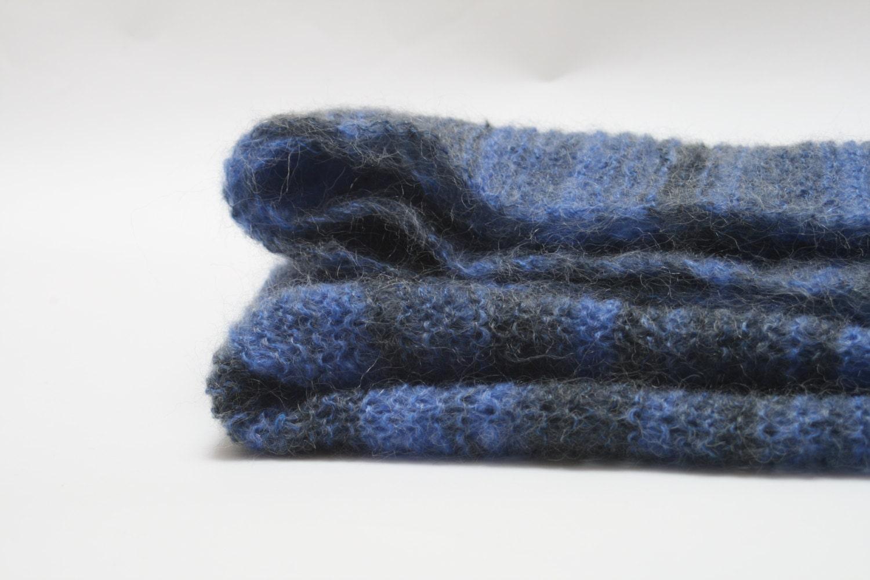 Knitting Pattern Cat Blanket : SALE Knitted cat/dog mohair blanket cat throw by Mohairkitten