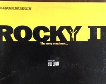 Rocky II - Bill Conti - vinyl record