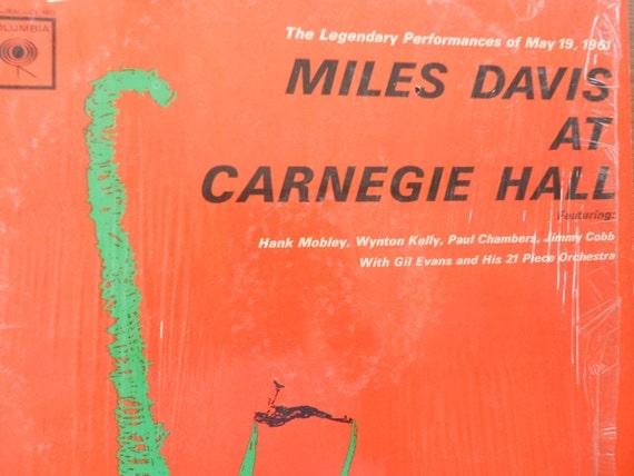 Miles Davis Live At Carnegie Hall Vinyl Record