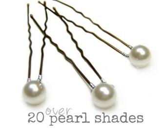 Pearl Bridal Hair Pins, Pearl Wedding Hair Pins, Pearl Hair Grips, Pearl Bridesmaid Hair Pins, Pearl Wedding Hair Accessory, Bridal Hair
