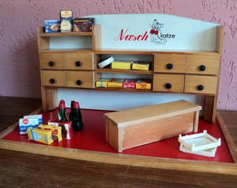 Vintage wooden grocery store ##sale##