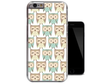Owl Woodland Cute Owls iPhone 4 4s case / iPhone 5 5s case / iPhone 5c case / iPhone 6 case Cover (A181)