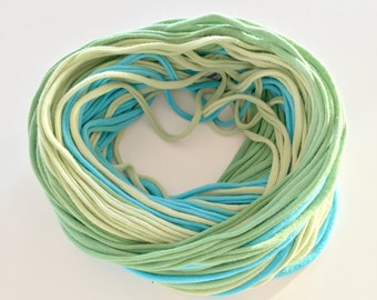 Blue & Green T-shirt Scarf