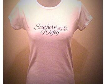 Southern Sweet Teas. Wifey, Momma, Southern Momma Tshirt.