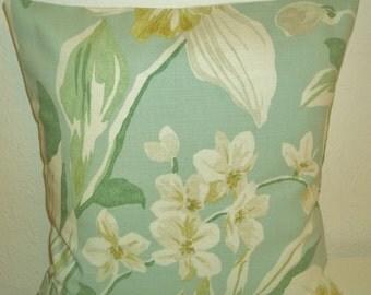 "Sanderson Samaya fabric cushion covers, pillow covers, 16"" x 16"" (41cm x 41cm)"