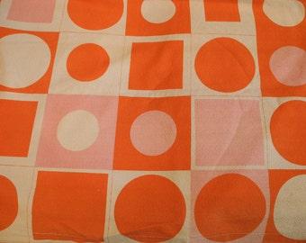 "Barbara Brown 1960s ""Reciprocation"" fabric"