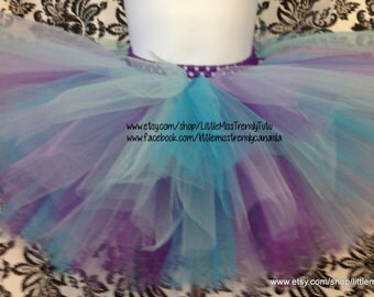 Birthday Tutu, Purple Tutu, Girls Tutu, Little Mermaid Tutu, Ariel Tutu, Under The Sea Birthday, Ariel Outfit, Ariel Costume, Halloween