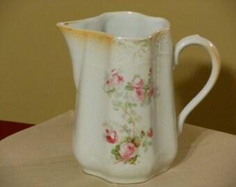 Vintage Porcelain Bavarian Pitcher