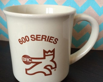 Vintage bowling mug with BRC 600 series