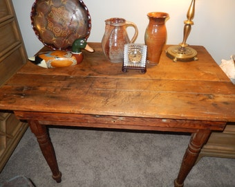 ANTIQUE DESK or Farm Table