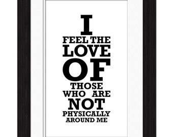 Feel the Love Affirmation