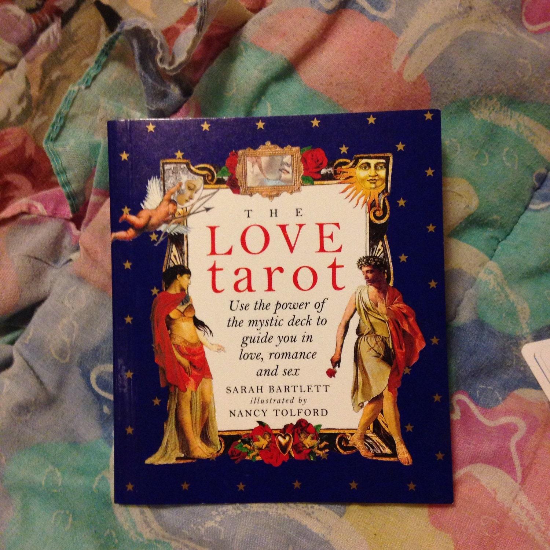 The Love Tarot By Sarah Bartlett Complete Set 1995