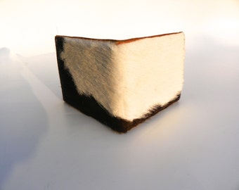 handmade calfskin leather wallet