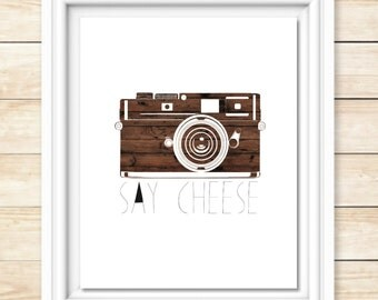 Say Cheese 8x10 Print