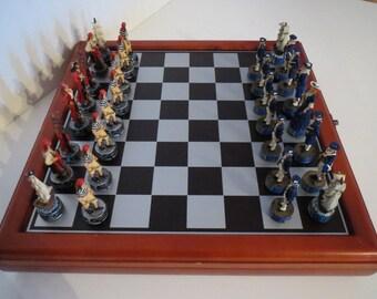 Chess pawns designer figures Knight