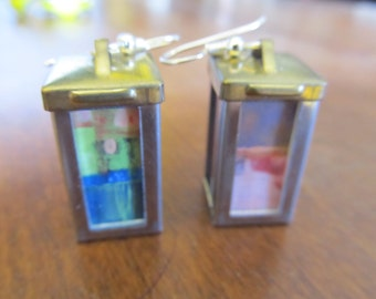 Hand Made Lantern Earrings