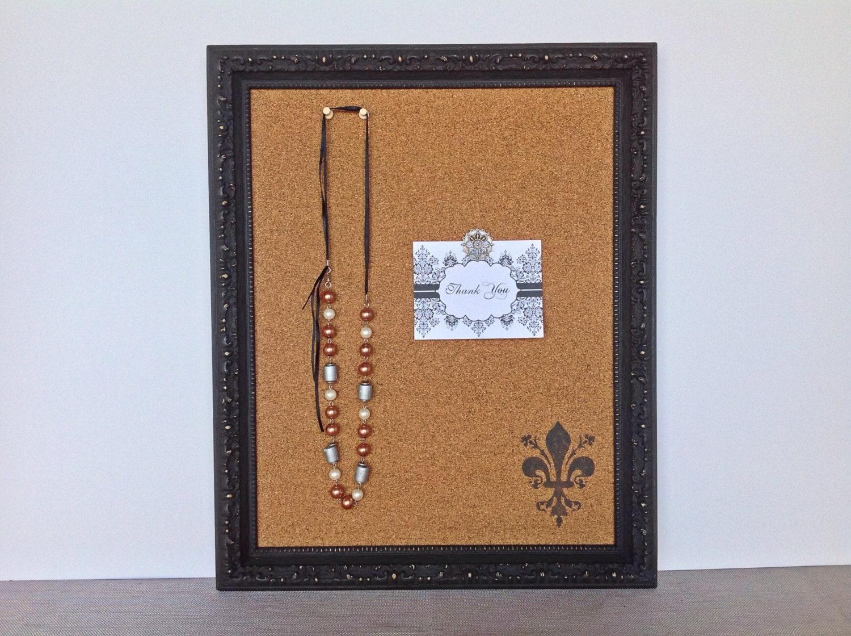 message board framed cork bulletin board by youmatterdesigns