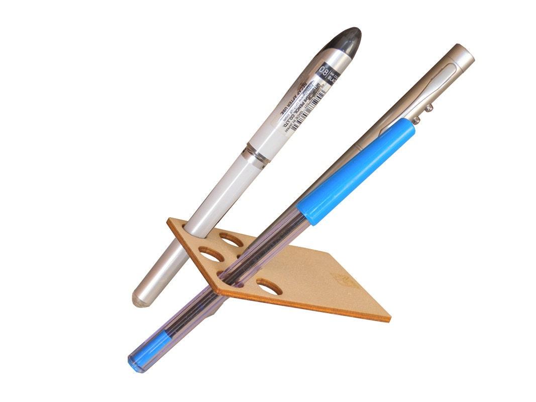Desk Pen And Pencil Holder For Walletlaser Cut By