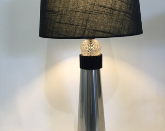 Industrial Chic Table Lamp Upcycled