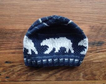 Thin Ice - Polar Bear Beanie, Arctic Hat