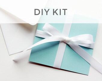 NEW! DIY Tiffany Inspired Invitation