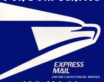 Express mail 1-2 day delivery