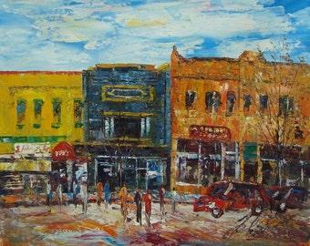 Downtown Glenwood Springs, Colorado-Pen King -A521