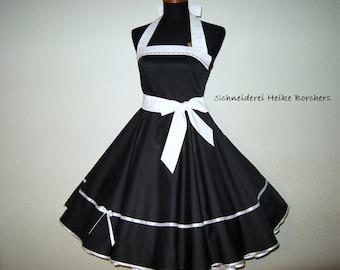 Petticoat dress-Gilda-in black