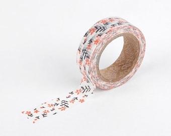 Masking Tape Single [ wildflower ] / Washi Tape Single