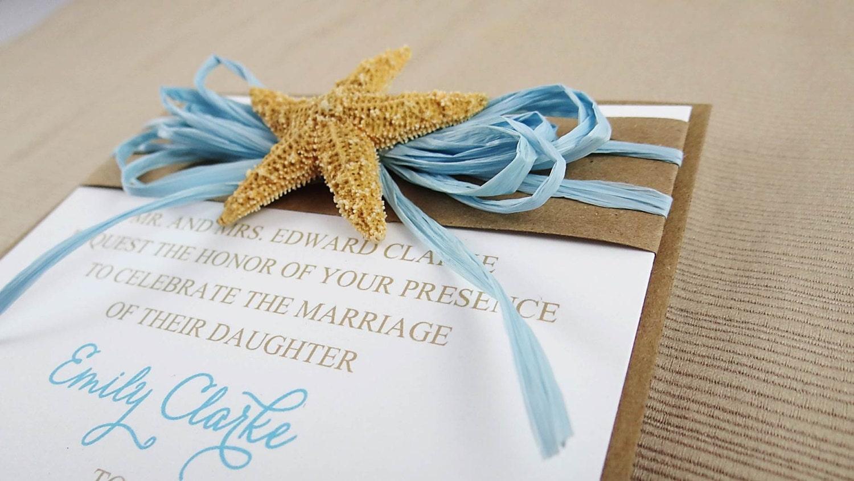 Beach Theme Wedding Invitation: Beach Theme Wedding Invitation By CordiallyInvitedShop On Etsy