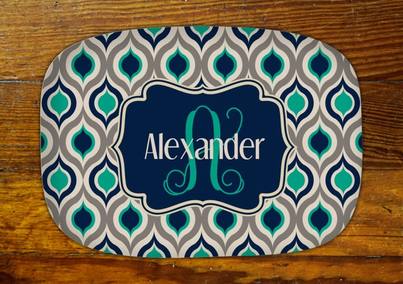 Personalized Serving Platter-Ogee