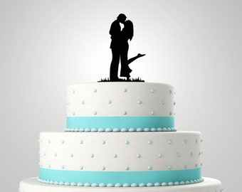 Cute Couple Cake Topper