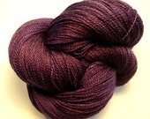 Purple night - Merino/Silk Lace