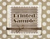Printed Sample
