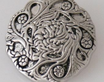 KB5423 Antiqued Etched Silver Vines