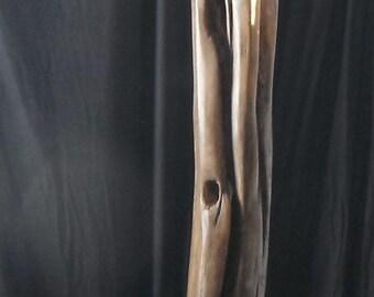 Oak and Steel Sculpture 0003