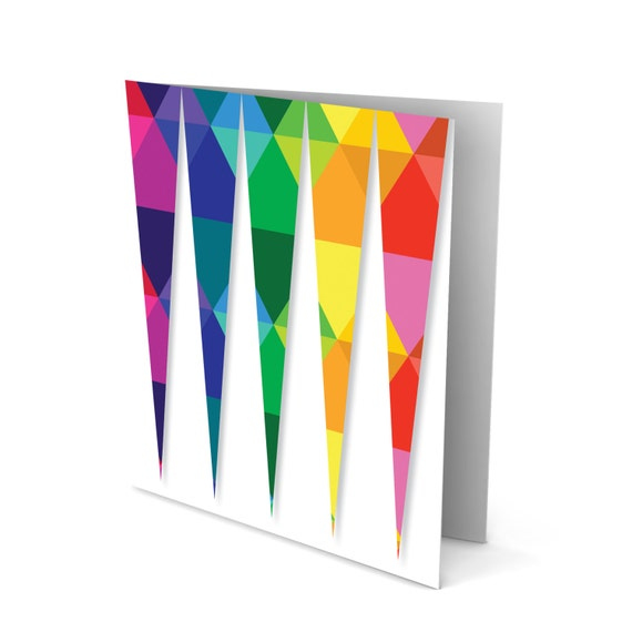 The Pointy Triangles Greeting Card