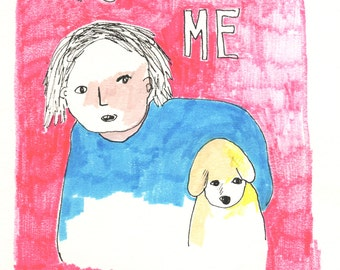 Postcard: You and Me Together