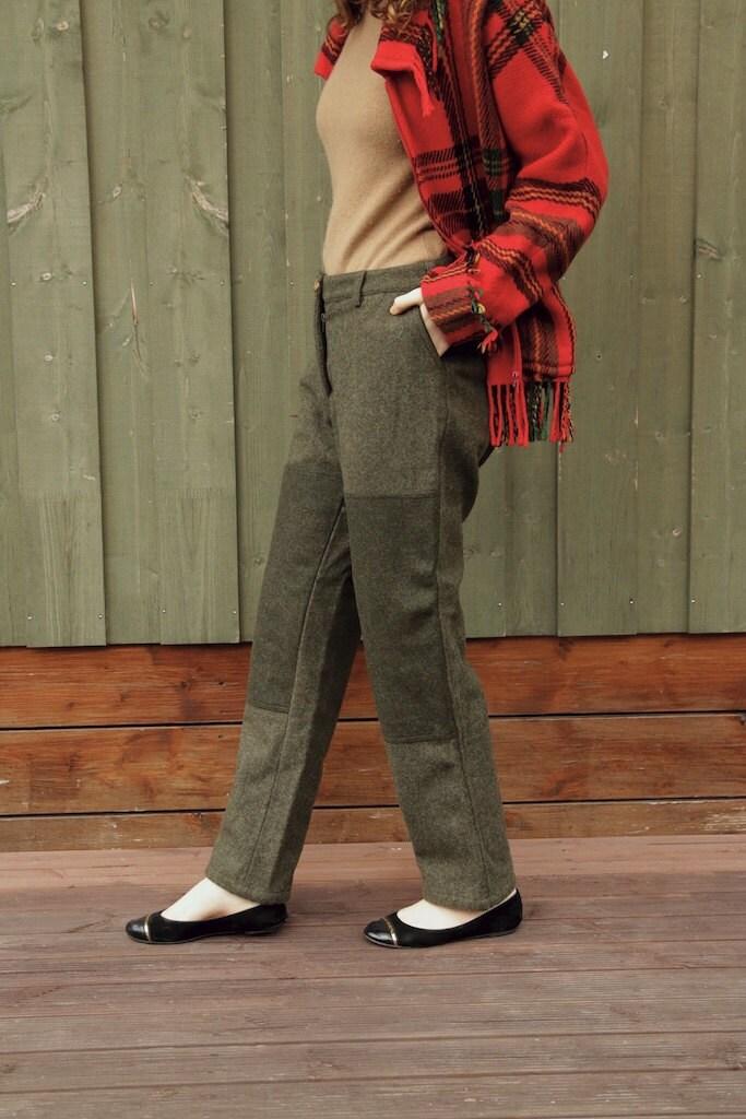 Pantalon chaud talons hauts