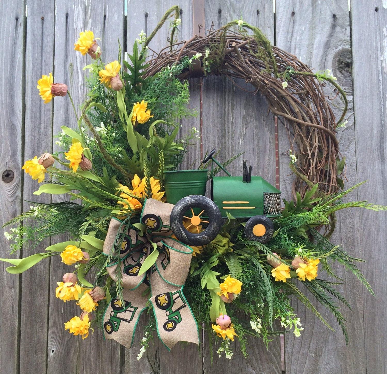 Spring Wreath Summer Wreath Natural Wreath Front Door Door