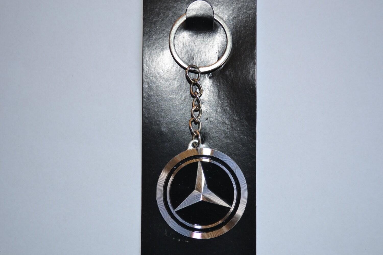 mercedes benz schl sselanh nger emblem metall auto logo. Black Bedroom Furniture Sets. Home Design Ideas